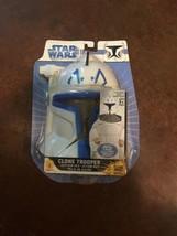 Size 8-10 Star Wars Storm Clone Trooper Captain Rex Costume Jumpsuit & M... - $22.00