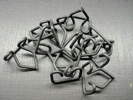 "12 pcs 1930's 1940's 1950's moulding trim clips Ford Lincoln NOS .700"" x .500"" - $8.10"