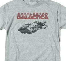 Battlestar Galactica t-shirt Retro 70's 80's Sci-fi TV series graphic tee BSG245 image 2