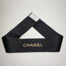 CHANEL Black Ribbon. Decorative Ribbon. 26.77 inch long. - $9.99