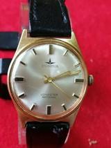 Vintage watch Dugena Jongster antichoc,gold plated - $148.50