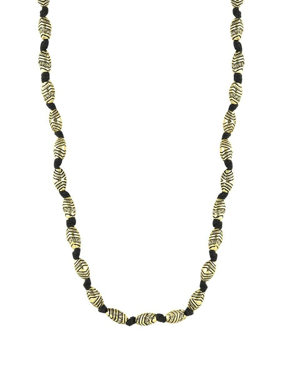 HOUSE OF HARLOW 1960 JEWELRY SYMBOLS AND SIGNS BEAD NECKLACE NWT $188 image 2