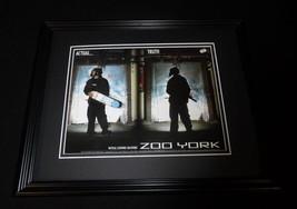 2001 Zoo York Clothing Framed 11x14 ORIGINAL Vintage Advertisement - $32.36