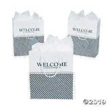 """Nautical """"Welcome"""" Wedding Gift Bags - $9.74"""