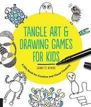 Tangle Art and Drawing Games for Kids: A Silly Book for Creative and Vis... - $7.91