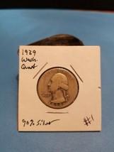 1939 Washington Quarter Better Date 90% Silver!!! LOOK!!!  - $5.94