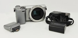 Sony Alpha NEX-5T 16.1MP Digital Camera - Silver (Body Only) - $94.99