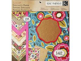 "K&Company 12x12 Inch Specialty Paper Pad ""Handmade"" #30-320208"