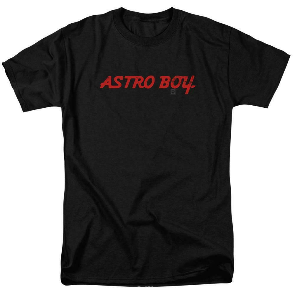 Astro Boy t-shirt logo Tobio Retro 80's TV cartoon graphic cotton tee ABOY102