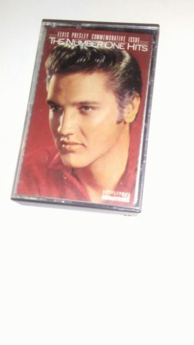 Primary image for Vintage Elvis Presley - The Number One Hits Audio Nastro a Cassetta