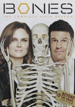 Bones The Complete Fifth Season 5 Five Series DVD TV Show Thrillers Epis... - $36.62