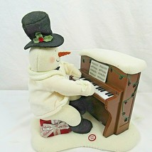 Hallmark Jingle Pals Animated Musical Snowman Piano Animated Plush - $39.59
