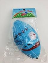 Vintage Madballs KO football ugly monster toy New in bag blue bootleg bi... - $65.44