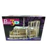 Puzz 3D Notre Dame Cathedral 3D Puzzle Milton Bradley SEALED New 952 Pie... - $118.75