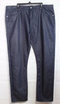 Silver Silk modern fit women's demin jeans relaxed fit fancy cotton size 44W/34 - $27.56