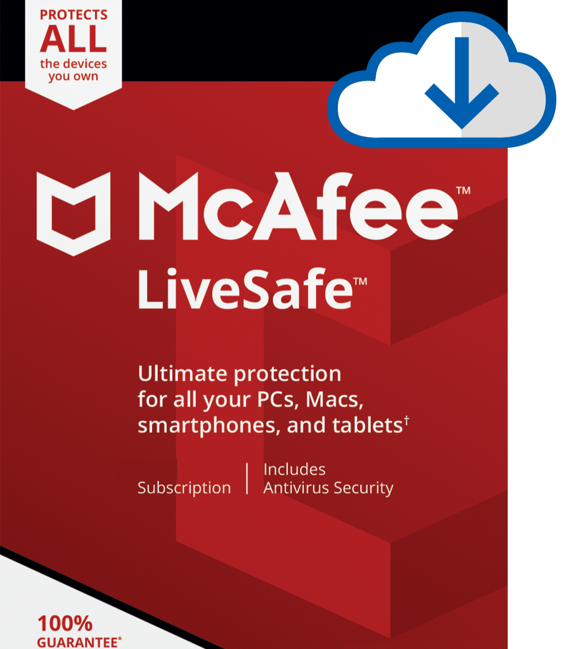 MCAFEE LIVESAFE 2021 - 5 Year  Product Key UNLIMITED- Windows Mac Email Delivery - $94.99