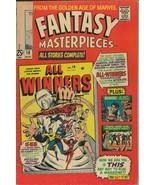 Fantasy Masterpieces #10 ORIGINAL Vintage 1967 Marvel Comics Captain Ame... - $14.84