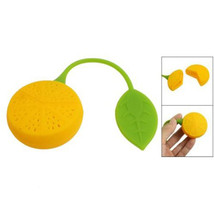 feiqiong Lemon Shaped Healthy Silicone Perforated Tea - $9.95