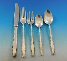 Rapallo by Lunt Sterling Silver Flatware Service for 8 Set 45 pieces Vin... - $2,695.00