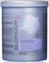 Wella Blondor Multi Blonde Powder Hair Lightener 28.2 oz Blue Powder Hair dye - $39.55