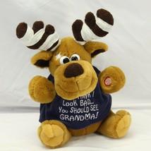 Dan Dee Singing Animated Reindeer Grandma Got Run Over By A Reindeer Chr... - $34.25