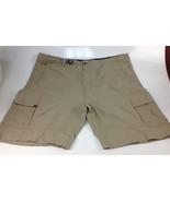 Men's BC Clothing The Tech Shorts Tan Size 44 - $17.81