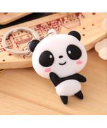 Keychain Panda  Cartoon Kung Fu  Hanging Soft - $5.99