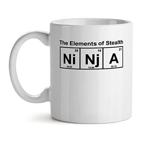 Primary image for The Element Of Stealth Ninja Cool Dream Cartoon Icon Love Fan - Mad Over Mugs -