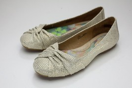 Born 7.5 Gold Ballet Flat Slip On - $36.00