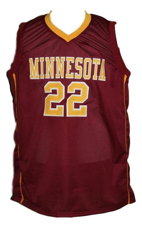 Reggie lynch college basketball jersey maroon   1