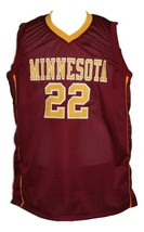 Reggie Lynch #22 College Basketball Jersey Sewn Maroon Any Size image 1
