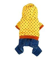 Dog Warm Clothing Autumn And Winter Clothes For Puppy With Dot Pattern - £25.17 GBP
