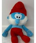 "The Smurfs Papa Smurf Nanco Plush Soft Stuffed 15"" Doll - $14.50"