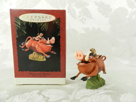 Hallmark Christmas Ornament The Lion King Timon and Pumbaa 1994 - $14.84