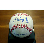 BOBBY COX 2500 WINS ATLANTA BRAVES HOF MGR SIGNED AUTO 2500W GAME BASEBA... - $395.99