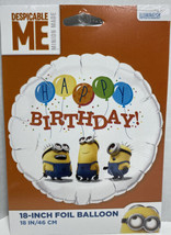 Despicable Me 18 Inch Helium Foil Balloon  Birthday Party - $7.20