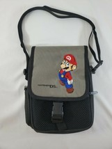 Official Nintendo DS Embroidered Mario Carrying Case Travel Bag w/Should... - $12.19