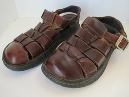 Born sandals Sz 9 brown handcrafted fisherman closed toe men/woman - $29.35