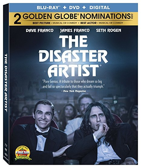 The Disaster Artist [Blu-ray+DVD+Digital] (2018)