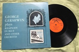George Gershwin Plays Rhapsody In Blue & Other Favorites Everest Stereo LP - $15.47