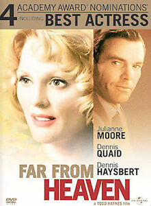 Primary image for Far From Heaven (ONE CENT DVD, 2003, WIDESCREEN) MOORE QUAID HAYSBERT