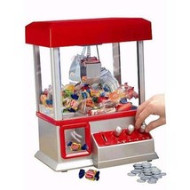 The CLAW Toy Grabber Crane Tabletop Arcade Machine Game Carnival Sounds - $42.59