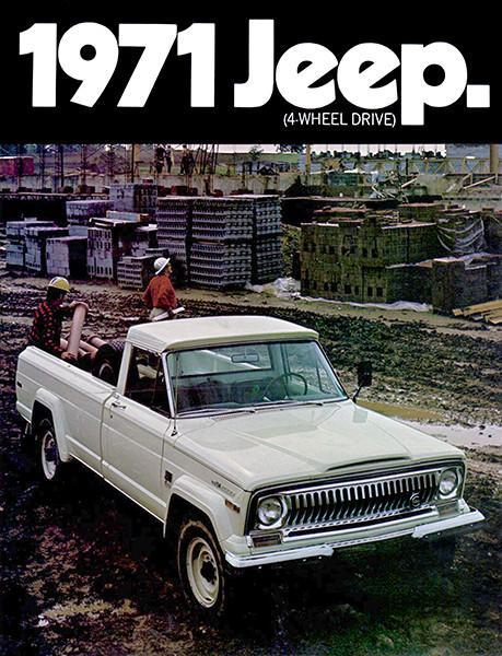 Primary image for 1971 Jeep Gladiator - Promotional Advertising Poster