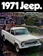 1971 Jeep Gladiator - Promotional Advertising Poster - $9.99+