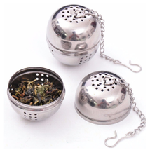 Stainless Steel Ball Tea Infuser Mesh Filter Strainer with Hook - €1,75 EUR