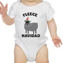 Fleece Navidad Cotton Made Cute Baby Bodysuit Gift For Christmas - $13.99