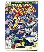 The New Mutants #6 comic book  1983- Marvel Silver Samurai High Grade - $20.18