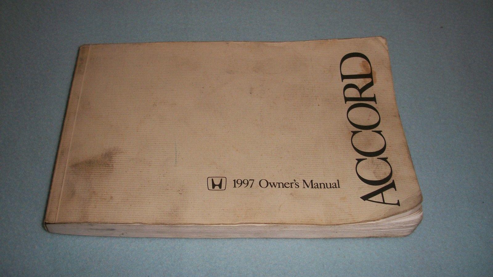 1997 honda accord owners manual oem and 50 similar items rh bonanza com 1997 honda accord service manual 1997 honda accord service manual