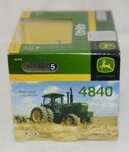 John Deere LP51304 Authentics 5 Die Cast Metal Replica 4840 Tractor image 4