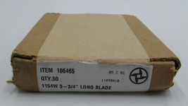 """Speco/ Weiler Blades #106465 1154W 3-3/4"""" Long Blade  50 COUNT BOX - $49.98"""